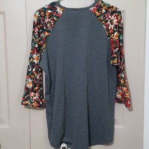 Lularoe  Mickey Mouse Randy Shirt